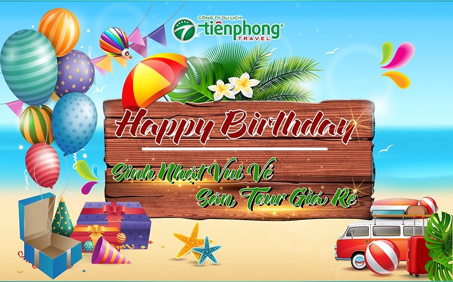 Thư chúc mừng sinh nhật công ty Tiên Phong Travel lần thứ 8