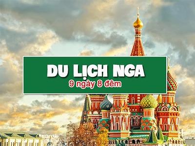 Du lịch Nga dịch vụ tốt