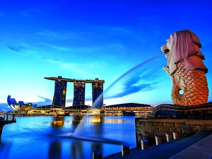Singapore - Sentosa (bay Singapor Airline)